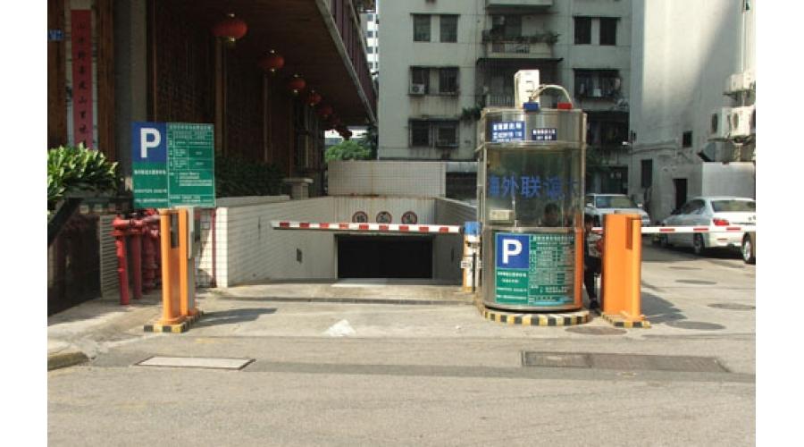 深圳海外联谊大厦停车场
